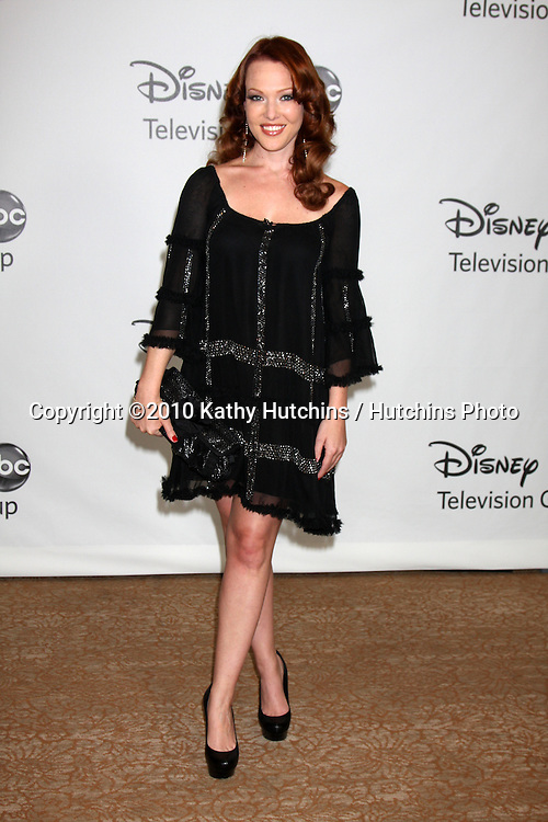 LOS ANGELES - AUGUST 1:  Erin Cummings arrive(s) at the 2010 ABC Summer Press Tour Party at Beverly Hilton Hotel on August 1, 2010 in Beverly Hills, CA...