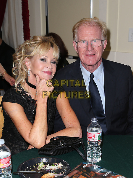 HOLLWOOD, CA - October 08: Melanie Griffith, Ed Begley Jr., At 4th Annual CineFashion Film Awards_Inside At On El Capitan Theatre In California on October 08, 2017. <br /> CAP/MPI/FS<br /> &copy;FS/MPI/Capital Pictures