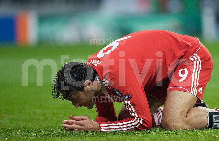 Fussball Uefa Champions League FC Bayern Muenchen - FC Girondins Bordeaux Luca TONI (FCB).