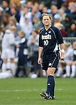 3 December 2006: Notre Dame's Brittany Bock. The University of North Carolina Tarheels defeated the University of Notre Dame Fighting Irish 2-1 at SAS Stadium in Cary, North Carolina in the NCAA Division I Women's College Cup championship game.