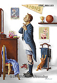 Marcello, MASCULIN, MÄNNLICH, MASCULINO,dressing up,sports,son,vintage, paintings+++++,ITMCWED1123,#M# ,everyday