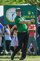 Charley Hoffman (USA) watches his tee shot on 7 during round 1 of the Arnold Palmer Invitational at Bay Hill Golf Club, Bay Hill, Florida. 3/7/2019.<br /> Picture: Golffile | Ken Murray<br /> <br /> <br /> All photo usage must carry mandatory copyright credit (&copy; Golffile | Ken Murray)