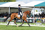 Kate Hicks riding Belmont during day 2 of the dressage phase at the 2012 Land Rover Burghley Horse Trials in Stamford, Lincolnshire,UK.