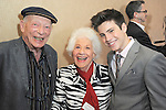 BEVERLY HILLS - JUN 12: Alan Mandell, Charlotte Rae, Lofton Shaw at The Actors Fund's 20th Annual Tony Awards Viewing Party at the Beverly Hilton Hotel on June 12, 2016 in Beverly Hills, California