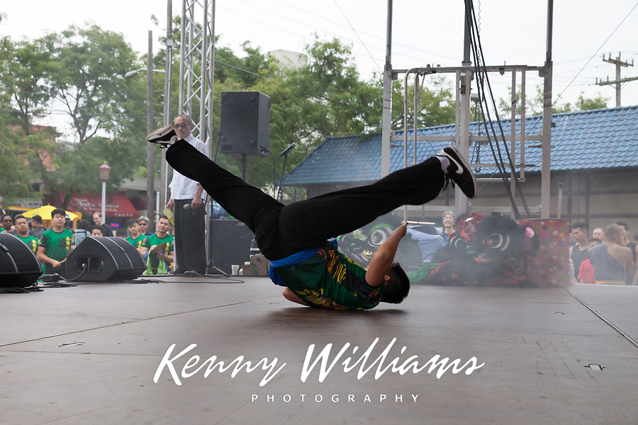 Kung Fu, Chinese Martial Artist, Dragon Fest 2015, Chinatown, Seattle, Washington, USA