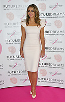 Elizabeth Hurley<br /> Future Dreams Ladies Lunch, United for Her, Breast cancer charity's annual lunch to raise funds for further research and new treatments. Held at The Savoy Hotel, London, England on October 09, 2017.<br /> CAP/JOR<br /> &copy;JOR/Capital Pictures