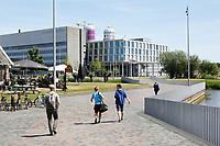 Nederland Amsterdam 2017. Het Science Park. Gebouw 904 : faculteit Natuurwetenschappen, Wiskunde en Informatica. Foto Berlinda van Dam / Hollandse Hoogte