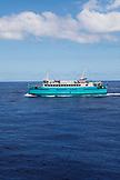 FRENCH POLYNESIA, Moorea. The Ferry to Papeete, Tahiti.