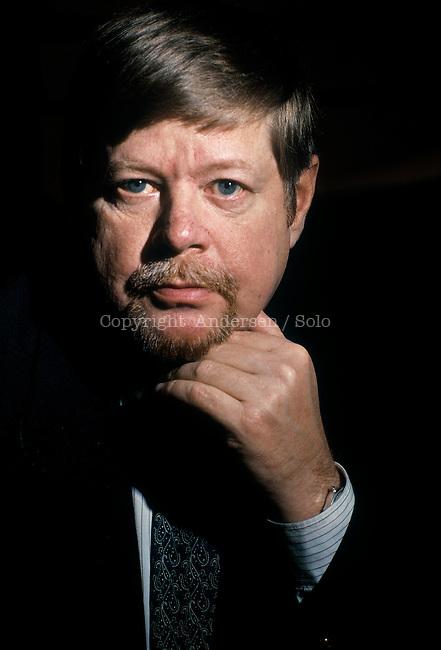 Arto Paasalinna, Finnish writer , January 17, 1993 in Paris, France.