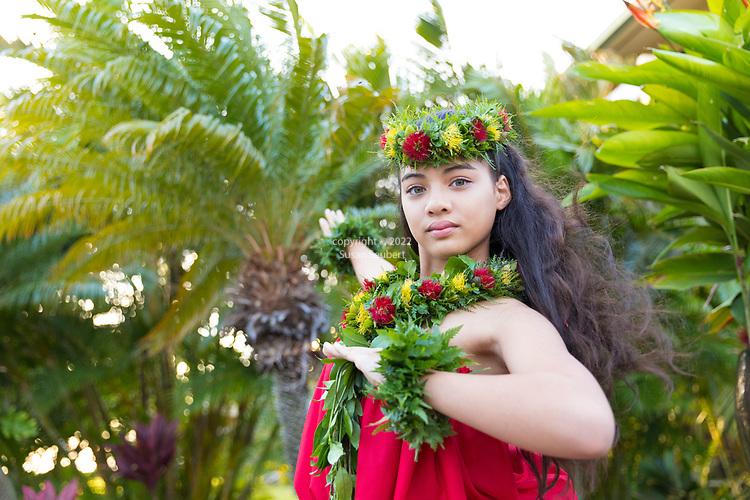 Kaanapali Beach Hotel, Lahaina, HI, USA The Hula O Na Keiki is a traditional Hula Festival at the Kaanapali Beach Hotel on the island of Maui, Lahaina, HI, USA