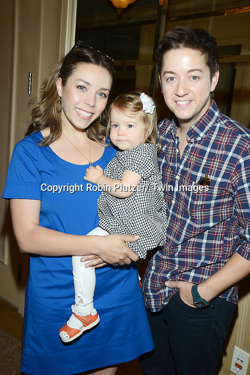 Bradford Anderson and wife and daugher Juna attend the Gifting Suitefor the Daytime Emmy Awards by Off The Wall Productions on June 15, 2013 at the Beverly Hills Hotel in Beverly Hills, California.