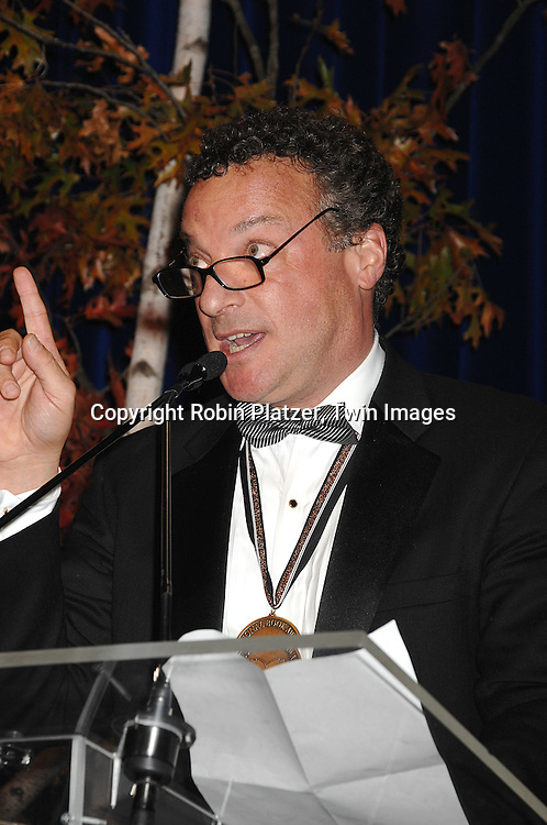 "Tim Weiner, winner of Non-fiction National Book Award for ""Legacy of Ashes""..at The National Book Awards on November 14, 2007 at ..the Marriott Marquis Hotel in New York, The event was hosted by Fran Lebowitz...Robin Platzer, Twin Images......"