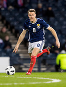 23rd March 2018, Hampden Park, Glasgow, Scotland; International Football Friendly, Scotland versus Costa Rica; Kevin McDonald of Scotland in action