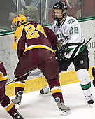 Mike Howe, Brian Lee - The University of Minnesota Golden Gophers defeated the University of North Dakota Fighting Sioux 4-3 on Friday, December 9, 2005, at Ralph Engelstad Arena in Grand Forks, North Dakota.