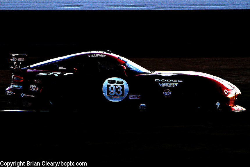 #93 Dodge Viper , Jonathan Bomarito, Kumo Wittmer, Brickyard Grand Prix, Indianapolis Motor Speedway, Indianapolis, Indiana, July 2014.  (Photo by Brian Cleary/www.bcpix.com)