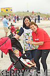 Three generations from Kenmare at the Caherdaniel Regatta on Saturday mum Diane Breen on the right with her daughter Deirdre Miles and grandson Mathew Miles having a quick snack between races.
