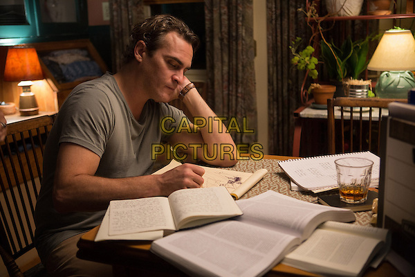 Joaquin Phoenix<br /> in Irrational Man (2015) <br /> *Filmstill - Editorial Use Only*<br /> CAP/NFS<br /> Image supplied by Capital Pictures