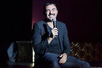 "Miguel Reveriego during his opening ""Mi España"""