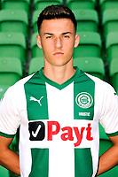 GRONINGEN - Voetbal, Presentatie FC Groningen,  seizoen 2018-2019, 17-07-2018, FC Groningen speler Ajdin Hrustic