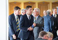 Picture By Allan McKenzie/SWpix.com - 06/04/18 - Cricket - Yorkshrie County Cricket Club Opening Season Lunch 2018 - Emerald Headingley Stadium, Leeds, England - Alex Lees at the opening season lunch.