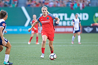 Portland, OR - Saturday July 22, 2017: Lindsey Horan during a regular season National Women's Soccer League (NWSL) match between the Portland Thorns FC and the Washington Spirit at Providence Park.