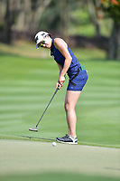 PATTAYA, THAILAND - FEBRUARY 22: Jennifer Song of USA 3rd shot on the 18th green during the second round of the Honda LPGA Thailand 2019 at Siam Country Club Pattaya (Old Course), Pattaya, Thailand on February 22, 2019.<br /> .<br /> .<br /> .<br /> (Photo by: Naratip Golf Srisupab/SEALs Sports Images)<br /> .<br /> Any image use must include a mandatory credit line adjacent to the content which should read: Naratip Golf Srisupab/SEALs Sports Images