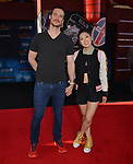 """Mari Takahashi, Peter Kitch 002 arrives for the premiere of Sony Pictures' """"Spider-Man Far From Home"""" held at TCL Chinese Theatre on June 26, 2019 in Hollywood, California"""
