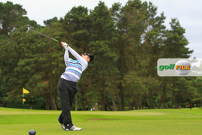 Sean Doyle (Athlone) during R2 of the 2016 Connacht U18 Boys Open, played at Galway Golf Club, Galway, Galway, Ireland. 06/07/2016. <br /> Picture: Thos Caffrey | Golffile<br /> <br /> All photos usage must carry mandatory copyright credit   (&copy; Golffile | Thos Caffrey)