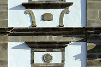 Kirche Matriz in Santa Cruz auf der Insel Flores, Azoren, Portugal