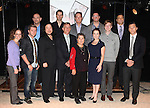 The creative team and guests attending the 'BARE' celebrates National Coming Out Day at the Snapple Theater Center on October 11, 2012 in New York City.