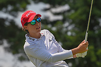 Carlota Ciganda (ESP) watches her tee shot on 3 during round 3 of the 2018 KPMG Women's PGA Championship, Kemper Lakes Golf Club, at Kildeer, Illinois, USA. 6/30/2018.<br /> Picture: Golffile | Ken Murray<br /> <br /> All photo usage must carry mandatory copyright credit (&copy; Golffile | Ken Murray)