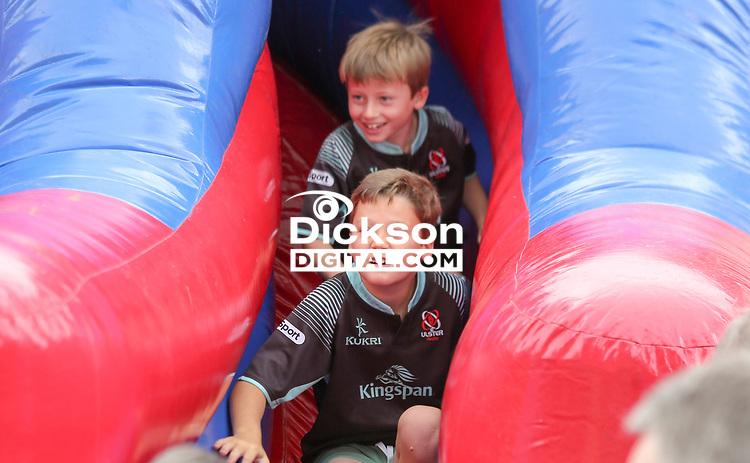 Friday 3rd August 2018 | Ulster Rugby Family Fun Day<br /> <br /> Ulster Rugby Family Fun Day at Kingspan Stadium, Ravenhill Park, Belfast, Northern Ireland.  Photo by John Dickson / DICKSONDIGITAL