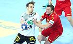 13.01.2018., Croatia, Arena Zagreb, Zagreb - European Handball Championship, Group C, Round 1, Germany - Montenegro. HAFNER Kai <br /> <br /> Foto &copy; nordphoto / Sanjin Strukic/PIXSELL