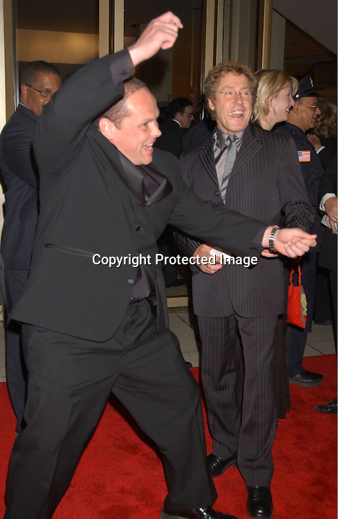 "Kevin Chapman and Roger Daltry                                  ..arriving at the opening of the 41st New York Film Festival ..screening of "" Mystic River"" on October 3, 2003 in New York City. Photo By Robin Platzer, Twin Images"