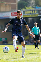 Michael Kightly of Southend United plays a pass during the Sky Bet League 1 match between Southend United and MK Dons at Roots Hall, Southend, England on 21 April 2018. Photo by Carlton Myrie.