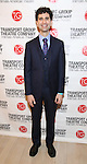 John Cariani attends the Transport Group Theatre Company 'A Toast to the Artist - An Evening with Mary-Mitchell Campbell & Friends'  at The The Times Center on February 6, 2017 in New York City.