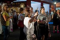 Alcuni partecipanti a Vinòforum, la manifestazione dedicata alla enogastronomia che si svolge ogni anno a Roma e considerata la più importante del centro-sud Italia.