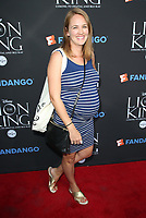 "05 August 2017 - Los Angeles, California - Sarah Thompson. ""The Lion King"" Sing-Along Screening. Photo Credit: F. Sadou/AdMedia"
