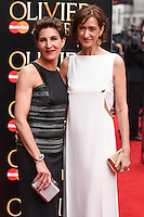 Tamsin Grieg and Haydn Gwynne arrives for the Olivier Awards 2015 at the Royal Opera House Covent Garden, London. 12/04/2015 Picture by: Steve Vas / Featureflash