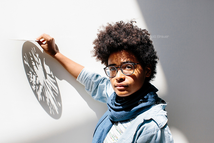 Undergraduate student Tiandra Ray is a senior in MIT's Department of Architecture in Cambridge, Massachusetts, USA. Her work uses patterns of light derived from nature that, when placed in a campus environment, help promote a mentally healthy space.