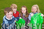 HELPING OUT: Pupils of St. Brendan's NS in Fenit helping out with the big clean up last Friday afternoon are front l:r Darragh Hind, Connor Gaynor, Shannon Brown and Jane .Doyle. Back are Bradley McCarthy and Peter Tobin..   Copyright Kerry's Eye 2008
