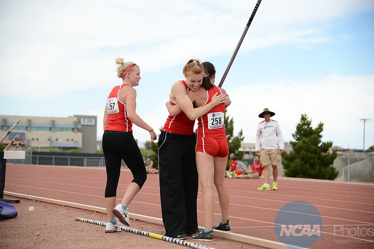 10 May 2013: Mountain West Conference Track and Field Championships at University of Nevada Las Vegas in Las Vegas, NV. Peter Lockley/NCAA Photos