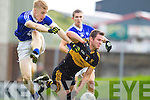 Eoin Brosnan Dr Crokes in action against Barry John Walsh Kerins O'Rahillys in the Semi Finals of the Senior County Football Championship at Austin Stack Park on Sunday.