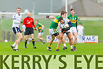 Kerry in action against  IT Tralee in the McGrath cup at Austin Stack Park on Sunday.