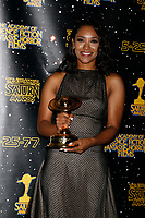 LOS ANGELES - JUN 28:  Candice Patton at the 43rd Annual Saturn Awards - Press Room at the The Castawa on June 28, 2017 in Burbank, CA