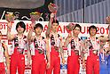 Japan team group, JULY 2, 2011 - Artistic gymnastics : Japan Cup 2011 Men's Team Competition Victory Ceremony at Tokyo Metropolitan Gymnasium, Tokyo, Japan. (Photo by YUTAKA/AFLO SPORT) [1040]