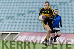 Fionn Fitzgerald Dr. Crokes in action against  Corofin in the Semi Final of the Senior Football Club Championship at the Gaelic Grounds, Limerick on Saturday.