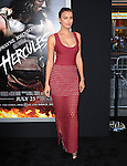 Irina Shayk attends The Paramount Pictures L.A. Premiere of Hercules held at The TCL Chinese Theatre in Hollywood, California on July 23,2014                                                                               © 2014 Hollywood Press Agency