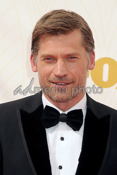 20 September 2015 - Los Angeles, California - Nikolaj Coster-Waldau. 67th Annual Primetime Emmy Awards - Arrivals held at Microsoft Theater. Photo Credit: Byron Purvis/AdMedia