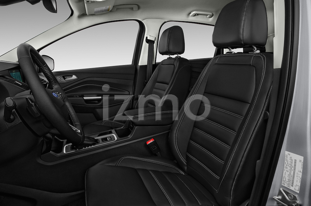 Front seat view of 2017 Ford Escape Titanium 5 Door Suv Front Seat  car photos